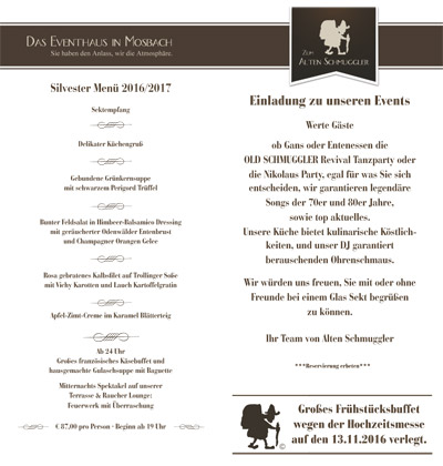 Flyer Events herbst 2016 - 1
